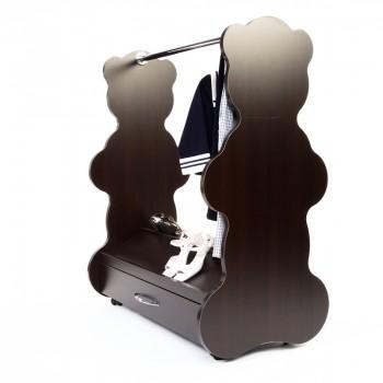 Mobile Closet Bear Espresso Wenge