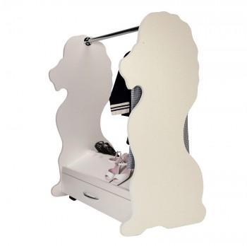 Mobile Closet Lion White